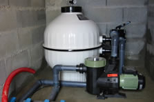 Filtration eau piscine Marinal