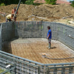 Construction piscine traditionnelle béton MARINAL