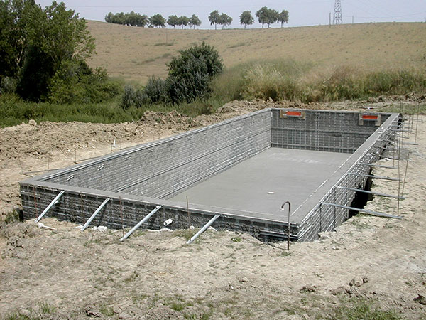 Photos techniques for Construire sa piscine en beton