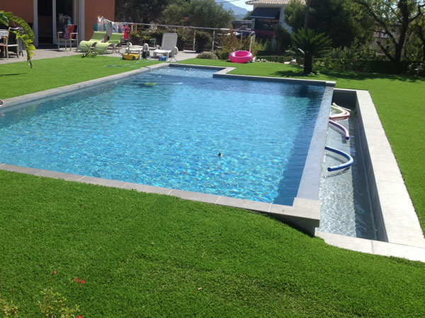 Marinal construction of overflow swimming pools for Piscines a debordement photos