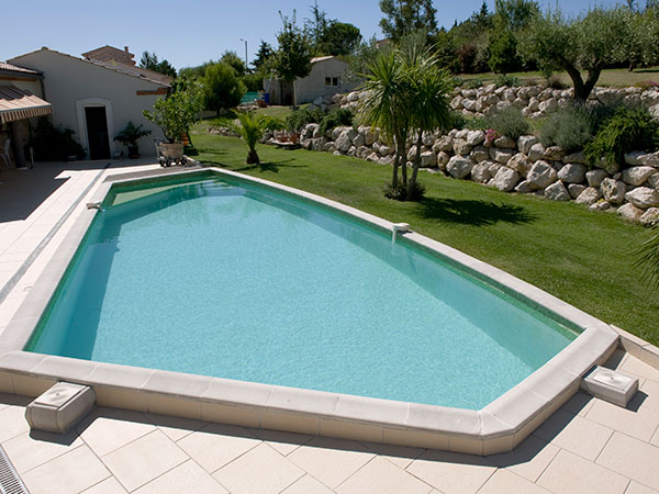 Quelques r alisation de piscines for Forme piscine beton