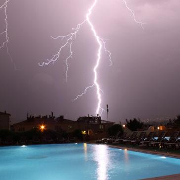 Conséquences des orages sur votre piscine