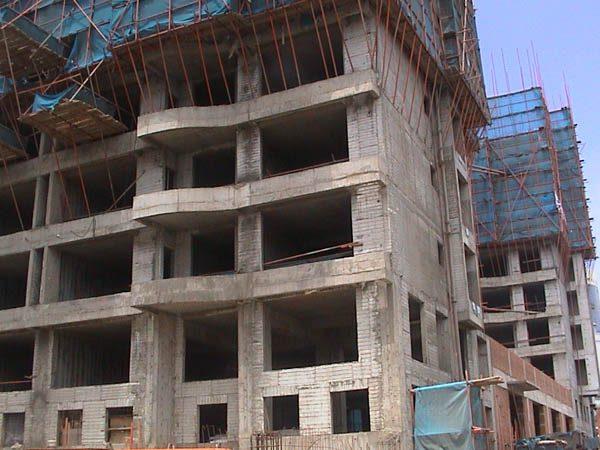 Immeuble d'habitation béton armé Technique construction piscines MARINAL