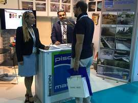 Stand au Salon Piscine Middle East de Dubaï