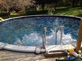 L'automne c'est mardi, il faut préparer l'hivernage de sa piscine